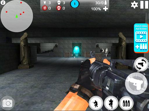 Skeleton Shooting War: Survival 3.9 screenshots 12