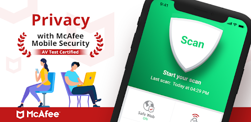 mcafee mobile security login page