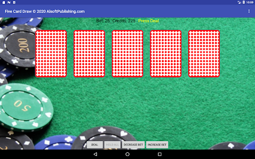 Five Card Draw Poker  screenshots 9