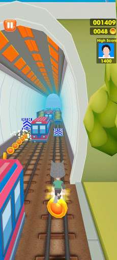 Subway Train Tracking Surf Run 1.0.4 screenshots 2
