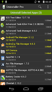 Uninstaller Pro v1.6.0 [Paid] by Rhythm Software 3