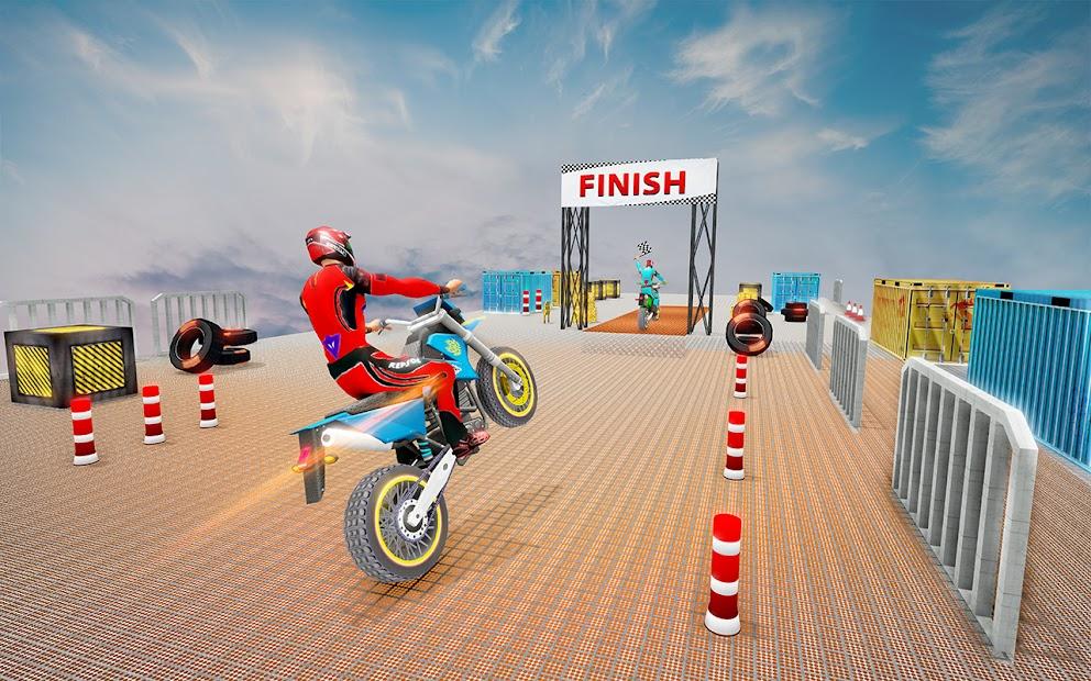 Impossible Tracks Bike Race Motorcycle Stunts screenshot 1