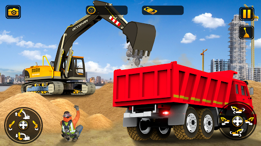 City Construction Simulator: Forklift Truck Game modiapk screenshots 1