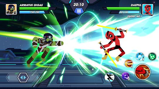 Stickman Fighter Infinity – Super Action Heroes Apk Download 2021 5