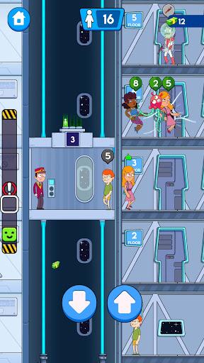 Hotel Elevator: Idle Fun Simulator Concierge mania apktram screenshots 11