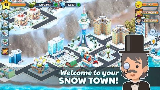 Snow Town – Ice Village World: Winter City APK Download 7