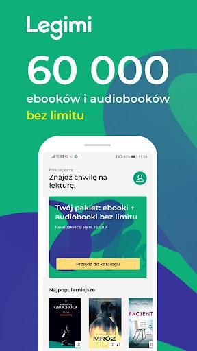 Legimi - ebooki i audiobooki bez limitu 3.2.2 screenshots 1