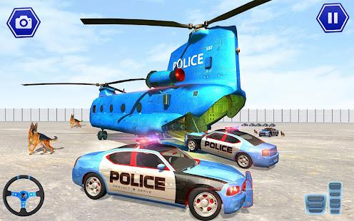 Police Plane Transport: Cruise Transport Games 1.12 Screenshots 7