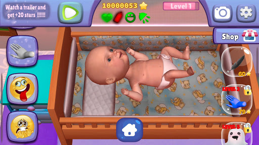 Alima's Baby 2 (Virtual Pet)  screenshots 2