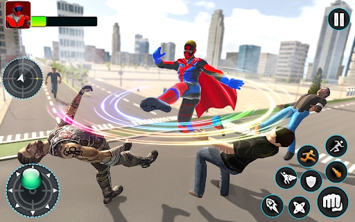 Flying Robot Hero - Crime City Rescue Robot Games 1.7.7 Screenshots 24