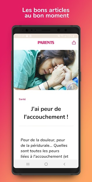 Grossesse by Parents Android App Screenshot