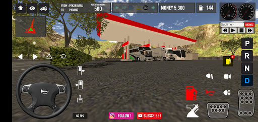 IDBS Simulator Bus Lintas Sumatera  screenshots 2