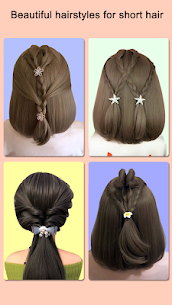 Hairstyles for short hair Girls 1