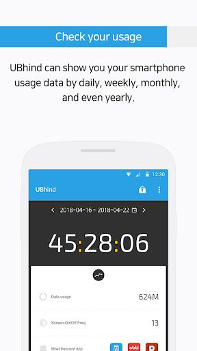 UBhind: No.1 Mobile Life Tracker/Addiction Manager 4.21.0 screenshots 2