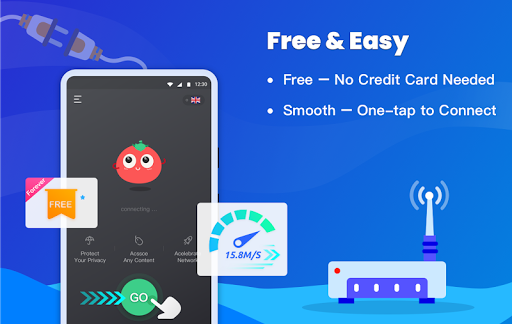 Free VPN Tomato | Fastest Free Hotspot VPN Proxy 2.6.500 screenshots 2