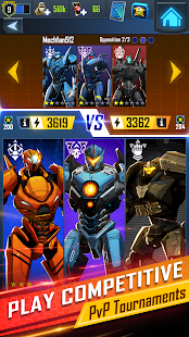 Pacific Rim Breach Wars - Robot Puzzle Action RPG Screenshot