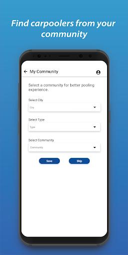 poolit: carpooling and cab-sharing app screenshot 3