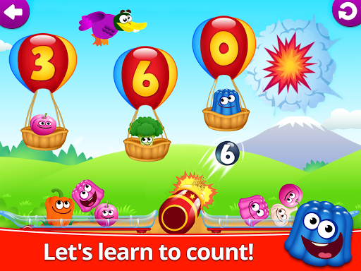 Funny Food 123! Kids Number Games for Toddlers  screenshots 8
