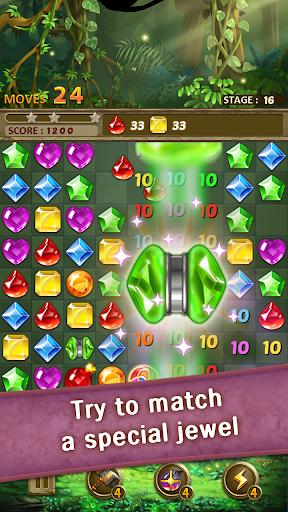 Jewels Jungle : Match 3 Puzzle apktram screenshots 3