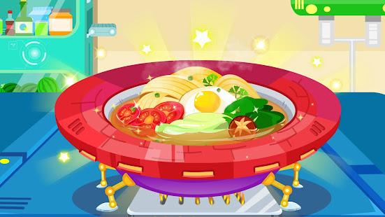 Little Pandau2019s Space Kitchen - Kids Cooking 8.57.00.02 Screenshots 3