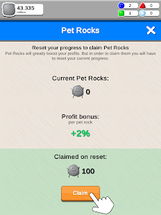 Rock Collector - Idle Clicker Game