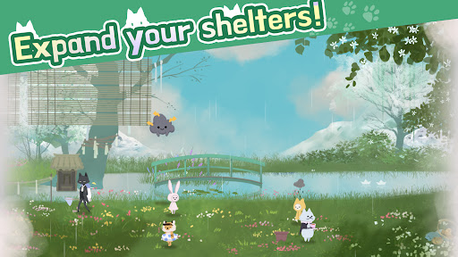 Cat Shelter and Animal Friends: Idle Relaxing Game  screenshots 6