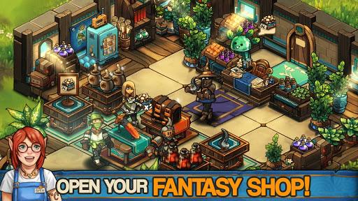 Tiny Shop: Cute Fantasy Craft, Design & Trade RPG  screenshots 1