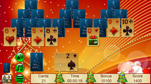 Xmas TriPeaks, card solitaire, tournament edition 5.10.31 screenshots 2