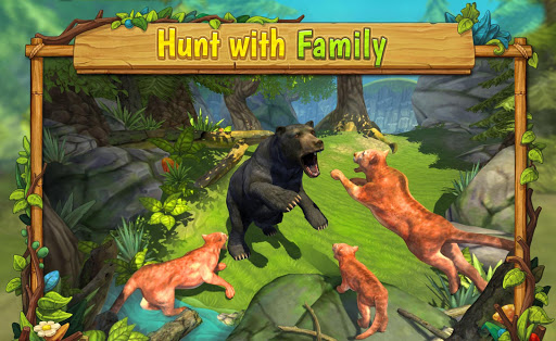 Mountain Lion Family Sim : Animal Simulator 1.8 screenshots 4