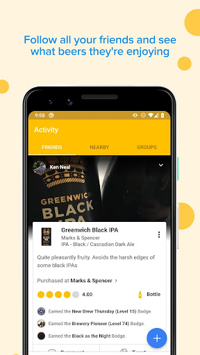 Untappd - Discover Beer  Paidproapk.com 1