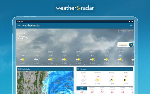 Weather & Radar - Storm radar apktram screenshots 13