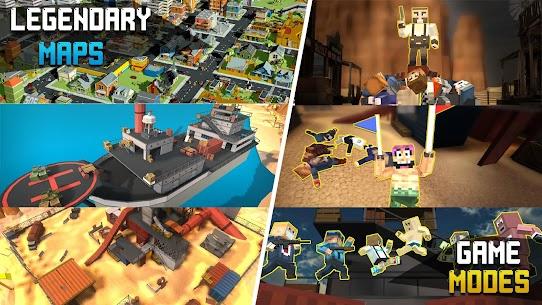 Pixel Fury: Multiplayer in 3D Mod Apk (God Mode + One Shot Kill) 3