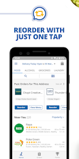 delivery.com: Food, Alcohol, Laundry & Grocery
