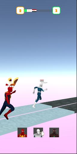 Superhero Transform Race Game screenshots 3