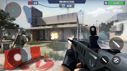 FPS Commando Strike 3D: New Games 2021: Fun Games android2mod screenshots 6