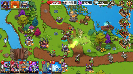 Crazy Defense Heroes: Tower Defense Strategy Game 2.4.0 screenshots 8
