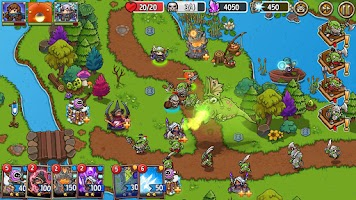 Crazy Defense Heroes: Tower Defense Strategy Game