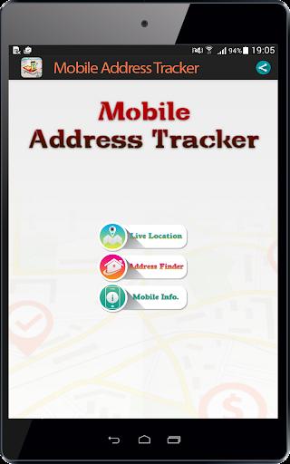 Live Mobile address tracker 1.9.45 screenshots 6