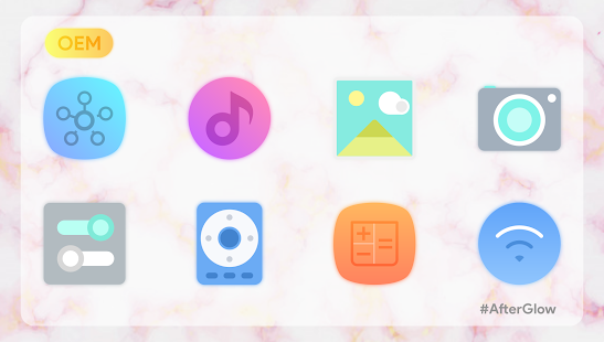 Afterglow Icons Pro Screenshot