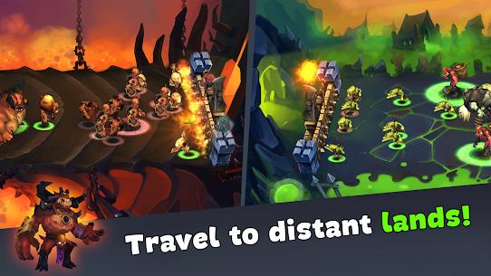 Magic Siege – Castle Defender MOD APK 1.8.42 (Unlimited Gold) 8