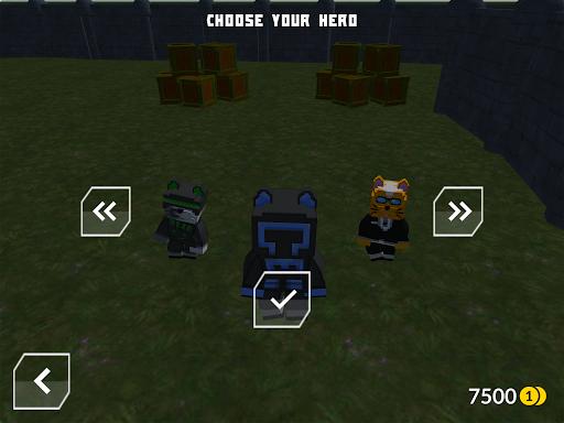 Cats vs Dogs - 3d Top Down Shooter & Pixel War  screenshots 10