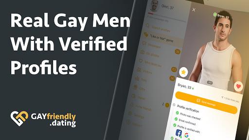 Gay guys chat & dating app - GayFriendly.dating 1.45 APK screenshots 15