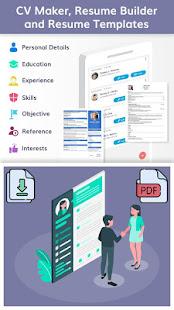 CV Maker, Resume Builder and Resume Templates