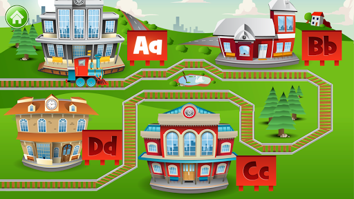 Learn Letter Names and Sounds with ABC Trains android2mod screenshots 14