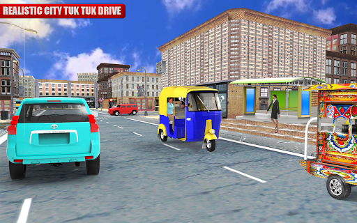 Tuk Tuk City Driving 3D Simulator 1.15 screenshots 11