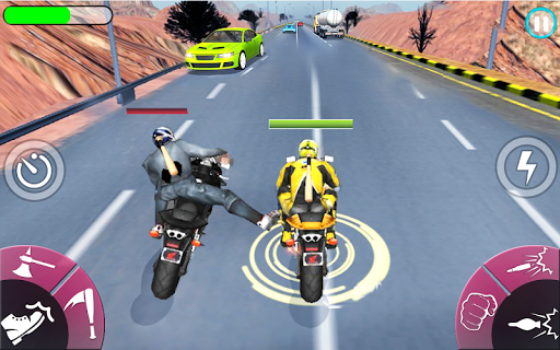 New Bike Attack Race - Bike Tricky Stunt Riding  screenshots 11