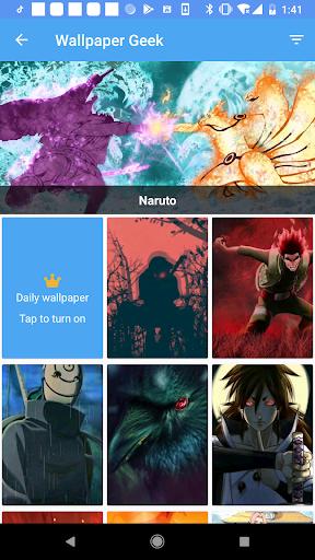 Wallpaper Geek - HD Anime live wallpaper  Screenshots 3