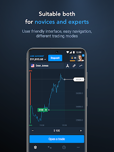 Olymp Trade - Online Trading App Screenshot