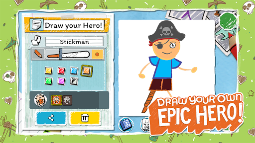 Draw a Stickman: EPIC 3 modiapk screenshots 1