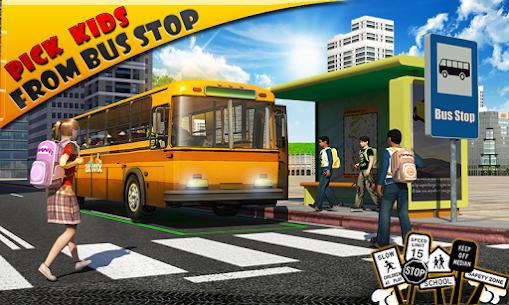 Schoolbus Driver 3D SIM Apk Download 1